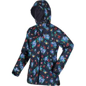 Regatta Bertille Waterproof Shell Jacket Women navy floral